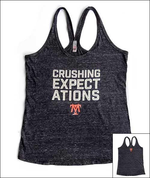 Crushing Expectations Tank